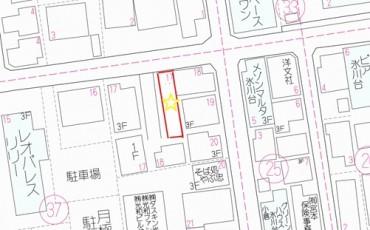 氷川台詳細地図