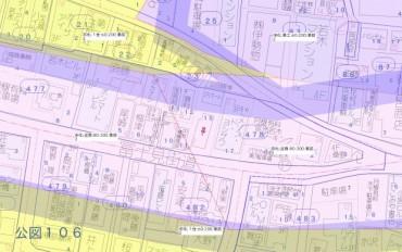 板橋若木土地詳細地図